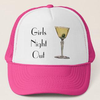 Vintage Drinks Beverages, Martini Olive Cocktail Trucker Hat