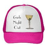 Vintage Drinks Beverges Cocktail Martini Olive Trucker Hat
