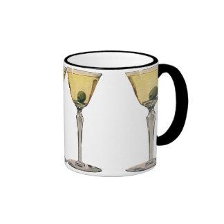 Vintage Drinks Beverges Cocktail Martini Olive Ringer Coffee Mug