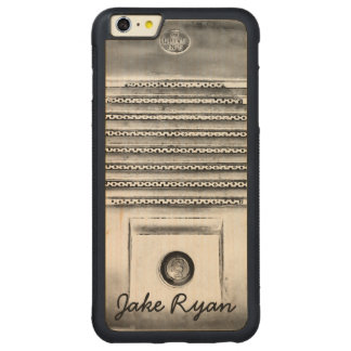 Vintage Drive-In Speaker iPhone Wood Case Carved® Maple iPhone 6 Plus Bumper