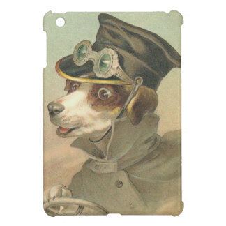 Vintage Driving Dog Cover For The iPad Mini