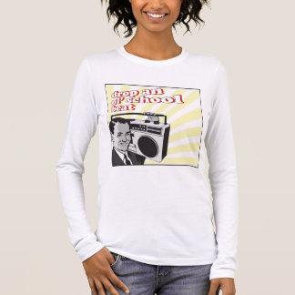 vintage drop an ol school beat long sleeve T-Shirt