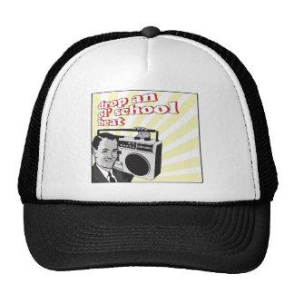 vintage drop an ol school beat trucker hat