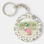 Vintage Duck Easter Gift Keychains