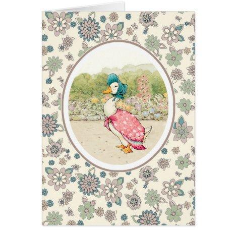 Vintage Duck Easter Greeting Cards