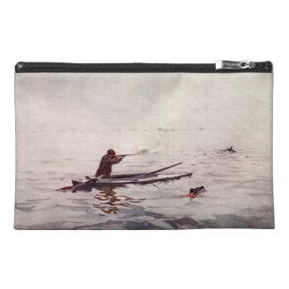 Vintage Duck Hunt Kayak Gun Sportsman Travel Bag