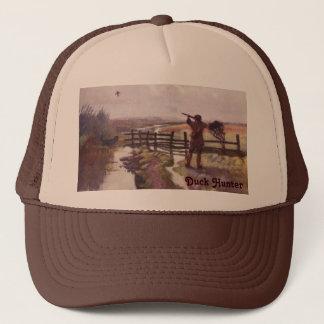 Vintage Duck Hunting Dog Sportsman Trucker Hat