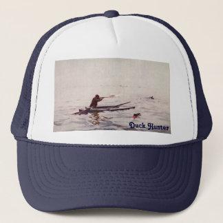 Vintage Duck Hunting Rifle Sea Kayak Trucker Hat