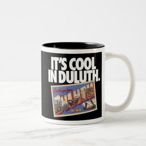 Vintage Duluth Minnesota es fresco en Duluth Tazas