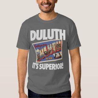 ¡Vintage Duluth Minnesota es superior! Playeras