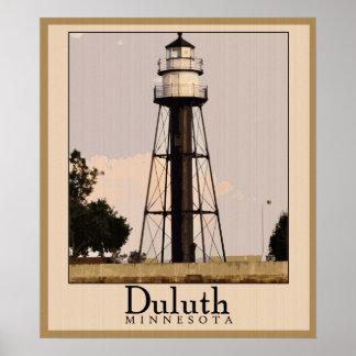 Vintage Duluth Minnesota Poster