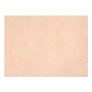 "Vintage Dusty Peach Parchment Template Blank 5.5"" X 7.5"" Invitation Card"