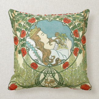 Vintage Dutch Ad 1898 Pillow