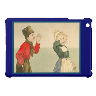 Vintage Dutch design, 1905,Girl and boy, gestures Case For The iPad Mini