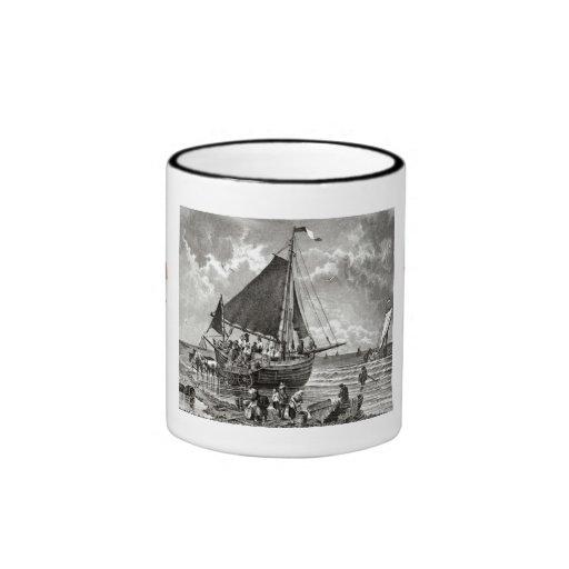 Vintage Dutch design, Schwengingen Ringer Coffee Mug