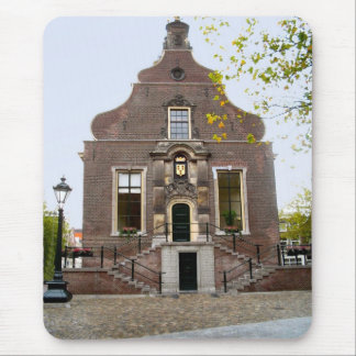 Vintage Dutch Image,  Schiedam, old town hall Mouse Pad