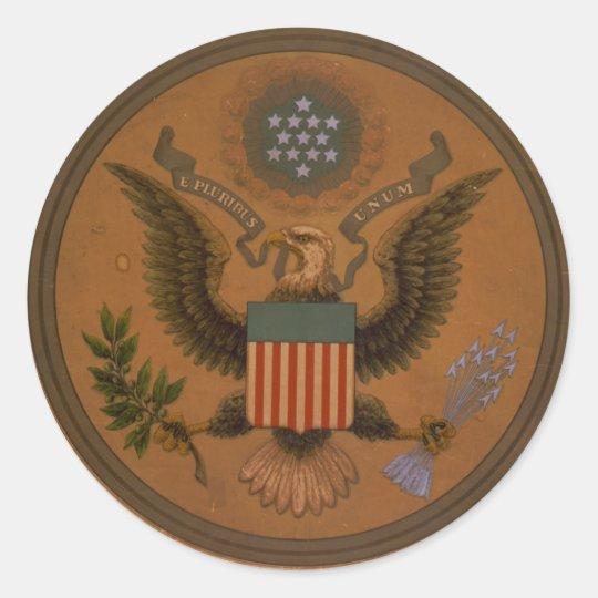 Vintage E Pluribus Unum Seal