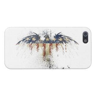 Vintage Eagle Flag America iPhone 5 Cases