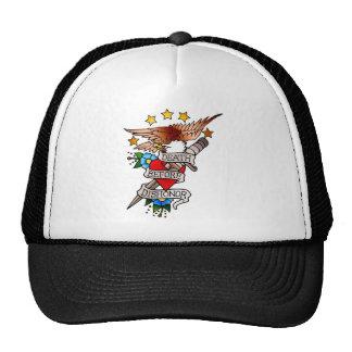 vintage eagle tattoo hats