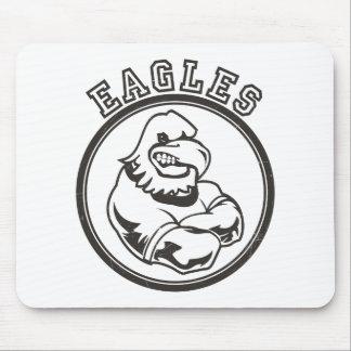Vintage Eagles Mascot Mouse Pad