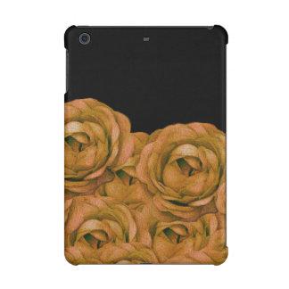 Vintage Earth Tone Roses Grunge iPad Mini Retina Cover