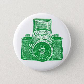 Vintage East German Camera - Green Button