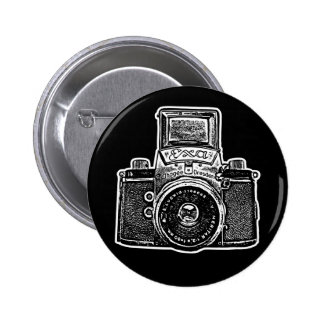 Vintage East German Camera II - Black Pin