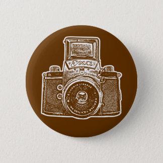 Vintage East German Camera II - Brown Button