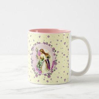 Vintage Easter Angel. Easter Gift Mugs