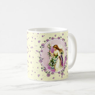 Vintage Easter Angel Easter Gift Mugs