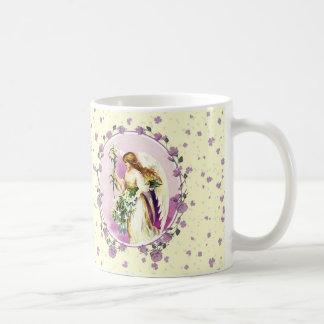 Vintage Easter Angel Easter Gift Mugs