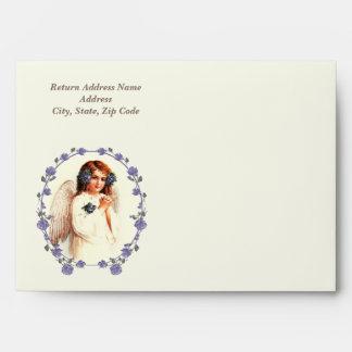 Vintage Easter Angel Envelopes