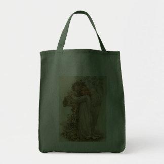 Vintage Easter Angel Tote Bag