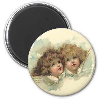 Vintage Easter, Angelic Angels Clouds Heaven Magnet