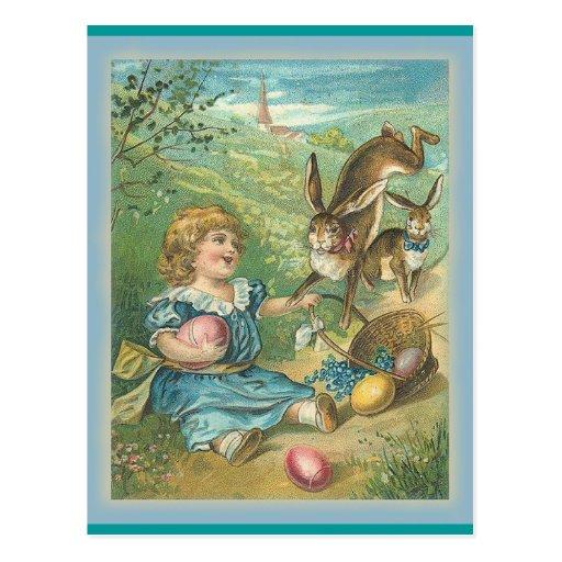 Vintage Easter - Art - Postcard