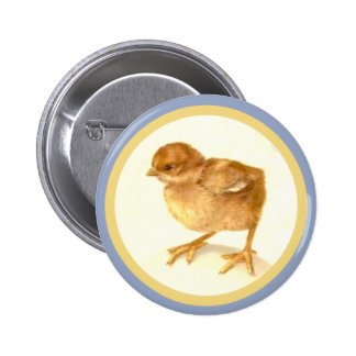 Vintage Easter Baby Chick Buttons