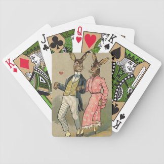 Vintage Easter Bicycle Playing cards