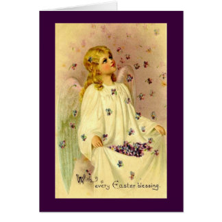 Vintage Easter Blessings Card