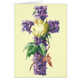 Religious easter gifts on zazzle vintage easter blessings card religious negle Choice Image