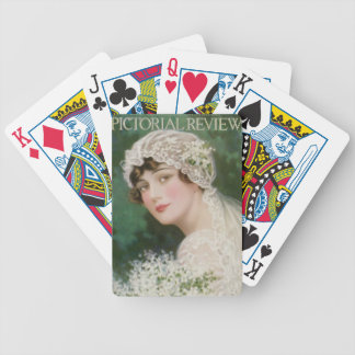 Vintage Easter Bride Bicycle Playing Cards