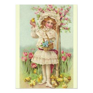 Vintage Easter Brunch Card