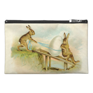 Vintage Easter Bunnies Travel Accessory Bag