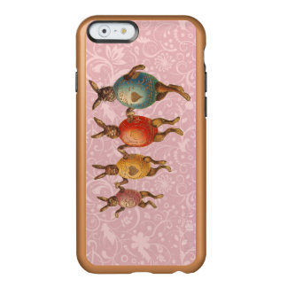 Vintage Easter Bunnies Dancing with Egg Costumes Incipio Feather Shine iPhone 6 Case