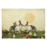Vintage Easter Bunnies Place Mats