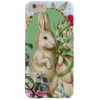 Vintage Easter Bunny and Eggs Collage Barely There iPhone 6 Plus Case
