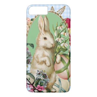 Vintage Easter Bunny and Eggs Collage iPhone 8 Plus/7 Plus Case