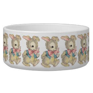 Vintage Easter Bunny Bowl