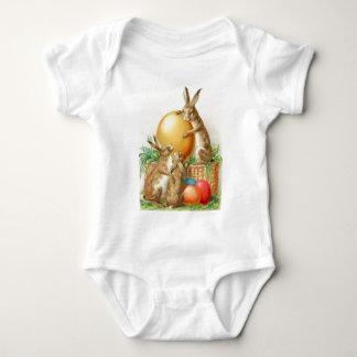 Vintage Easter Bunny Easter Eggs Easter Card Shirt