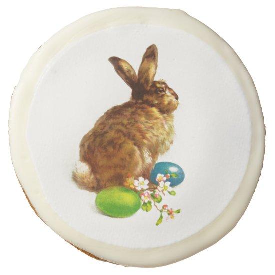 Vintage Easter Bunny. Easter Gift Cookies