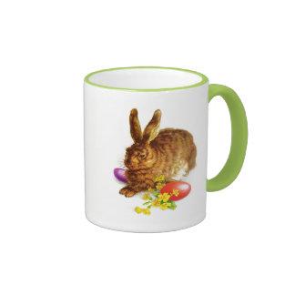 Vintage Easter Bunny. Easter Gift Mug